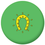 Rutland 1997-2015 County Flag 58mm Button Badge